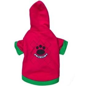 ペット服 ペットウェア 犬服 パーカー 袖あり フットプリント 足跡 ペット用品 おしゃれ 可愛い かっこいい 小型犬 中型犬