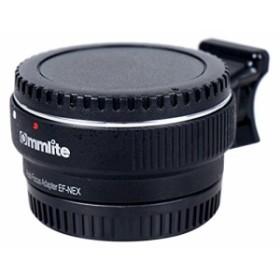 Commlite レンズマウントアダプター CM-EF-NEX B  (キャノンEFマウントレンズ → ソニーEマウント変換) 電子接点付き