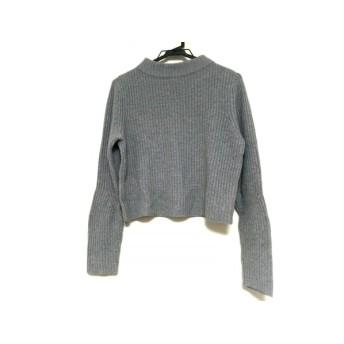 【中古】 オープニングセレモニー OPENING CEREMONY 長袖セーター サイズOS レディース グレー ハイネック