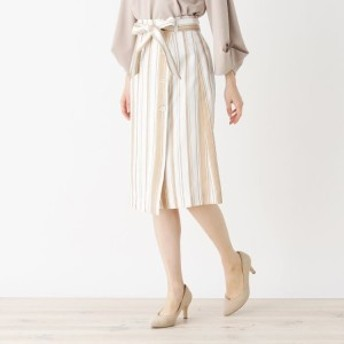 インデックス(index)/【洗濯機洗いOK】ミモレボタンタイトスカート
