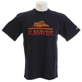 クリフメイヤー(KRIFF MAYER) ブランドロゴ刺繍 Tシャツ カウチン 1857216-3-NVY (Men's)