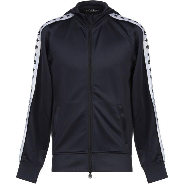《セール開催中》HYDROGEN メンズ スウェットシャツ ダークブルー XL ポリエステル 94% / ポリウレタン 6%