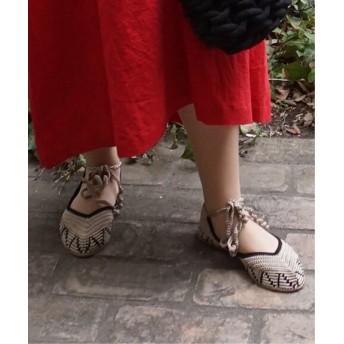 journal standard luxe 【KASHURA / カシュラ】Crochet Ballerina◆ ベージュ 36