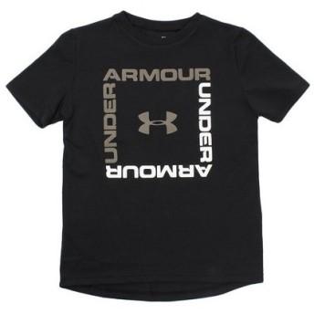 アンダーアーマー(UNDER ARMOUR) 【オンライン特価】 ボックスロゴ半袖Tシャツ #1329099 BLK/SBN AT (Jr)
