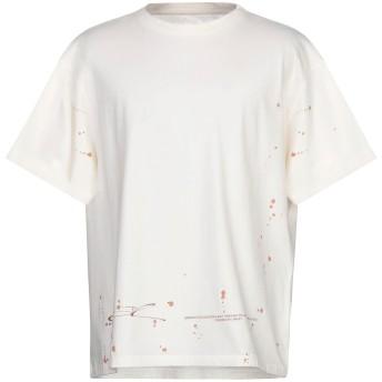 《9/20まで! 限定セール開催中》OAKLEY メンズ T シャツ アイボリー XS コットン 100%