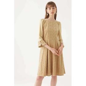 【SALE(三越)】<JILL STUART WHITE/ジルスチュアート ホワイト> 《JILLSTUART White》メアリーべロア刺繍ドレス(1088240007) ベージュ 【三越・伊勢丹/公式】