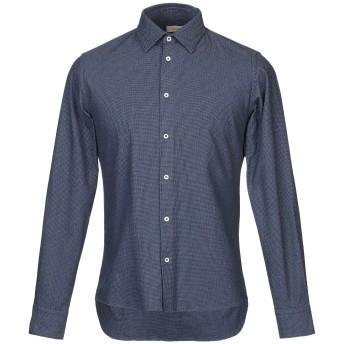 《期間限定セール開催中!》ALTEA メンズ シャツ ブルー S コットン 100%