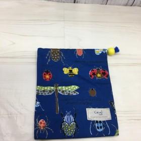 Cegl【入園・入学】「コップ袋 青×昆虫」