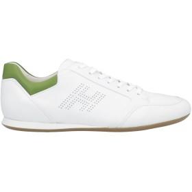 《期間限定セール開催中!》HOGAN メンズ スニーカー&テニスシューズ(ローカット) ホワイト 10 革