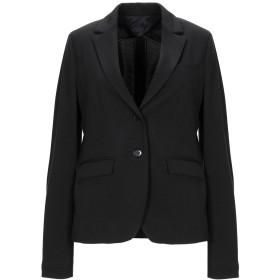《送料無料》HAPPY25 レディース テーラードジャケット ブラック 42 ポリエステル 82% / レーヨン 15% / ポリウレタン 3%