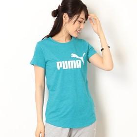 [マルイ] 【プーマ/PUMA】カジュアルSSシャツ(ESS+ NO.1 ロゴ ヘザー SS Tシャツ)/プーマ(PUMA)