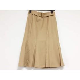 【中古】 ニジュウサンク 23区 スカート サイズ36 S レディース ライトブラウン