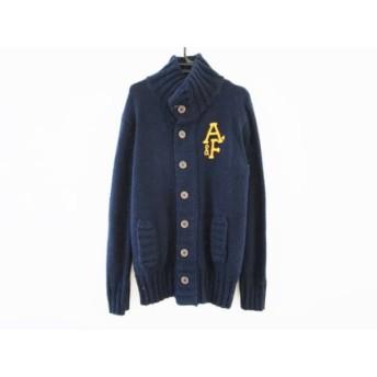 【中古】 アバクロンビーアンドフィッチ Abercrombie & Fitch コート メンズ ネイビー 冬物/ニット