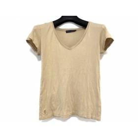 【中古】 ラルフローレン RalphLauren 半袖Tシャツ サイズM レディース ベージュ