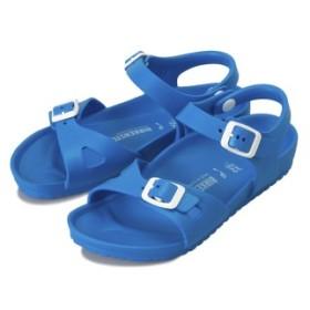 キッズ 【BIRKENSTOCK】 ビルケンシュトック サンダル RIO-N EVA (18.5-22) リオ 1003535 SCUBA BLUE 29(18.5cm)