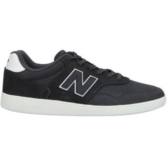 《期間限定 セール開催中》NEW BALANCE メンズ スニーカー&テニスシューズ(ローカット) ブラック 11 革 / 紡績繊維