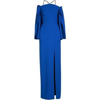 《セール開催中》ROLAND MOURET レディース ロングワンピース&ドレス ブルー 6 レーヨン 50% / アセテート 47% / ポリウレタン 3%