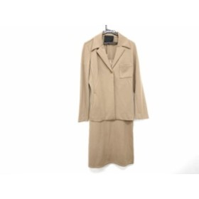 アンタイトル UNTITLED ワンピーススーツ サイズ9 M レディース ライトブラウン【中古】