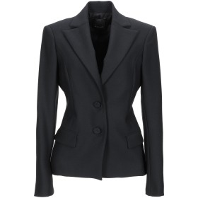 《セール開催中》PINKO レディース テーラードジャケット ブラック 46 ポリエステル 53% / ウール 44% / アセテート 3%