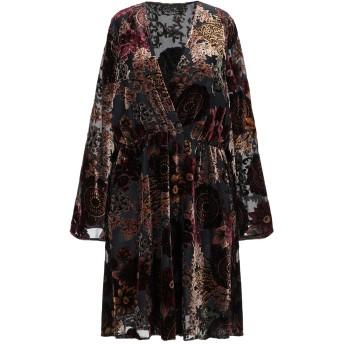 《セール開催中》YES ZEE by ESSENZA レディース ミニワンピース&ドレス ブラック XS ナイロン 100% / レーヨン / ポリエステル