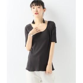 CITYSHOP 【Health knit】2Way Roundneck H/S ブラック フリー