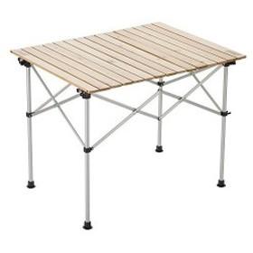 ナチュラルウッドロールテーブル テーブル 90 コールマン(Coleman) 2000031290 2~4人用