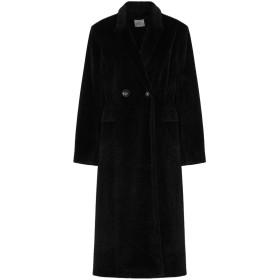《期間限定 セール開催中》I AM ANN レディース コート ブラック M ポリエステル 60% / ウール 40%