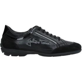 《期間限定セール開催中!》GALIZIO TORRESI メンズ スニーカー&テニスシューズ(ローカット) ブラック 40 革