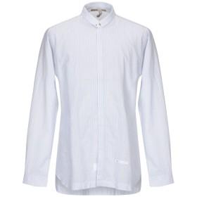 《期間限定セール開催中!》DNL メンズ シャツ ホワイト 43 コットン 100%