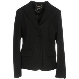 《期間限定セール開催中!》G.SEL レディース テーラードジャケット ブラック 40 ポリエステル 85% / ポリウレタン 15%