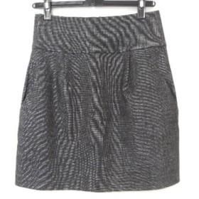 【中古】 セオリー theory ミニスカート サイズ2 S レディース 美品 ダークグレー