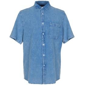 《期間限定 セール開催中》TOPMAN メンズ デニムシャツ ブルー XL コットン 100%
