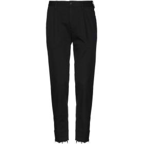 《セール開催中》ALL APOLOGIES メンズ パンツ ブラック 44 コットン 100%