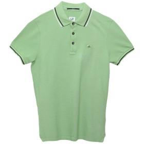 《送料無料》C.P. COMPANY メンズ ポロシャツ グリーン XL 100% コットン