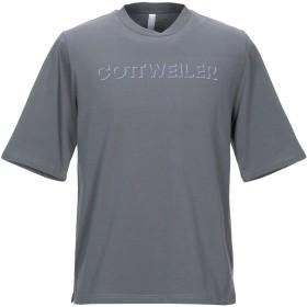 《セール開催中》COTTWEILER メンズ T シャツ グレー L コットン 100%
