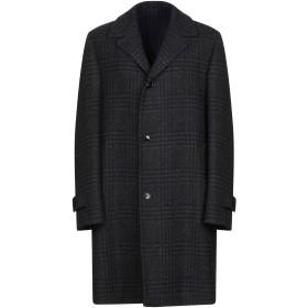 《期間限定セール開催中!》MP MASSIMO PIOMBO メンズ コート ダークブルー 52 バージンウール 100%