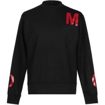 《9/20まで! 限定セール開催中》OMC メンズ スウェットシャツ ブラック M コットン 100%