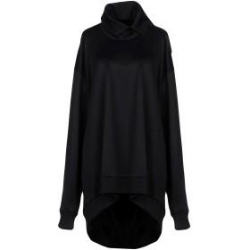 《期間限定 セール開催中》MARQUES' ALMEIDA レディース スウェットシャツ ブラック M コットン 55% / ナイロン 45%