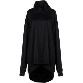 《期間限定セール開催中!》MARQUES' ALMEIDA レディース スウェットシャツ ブラック M コットン 55% / ナイロン 45%