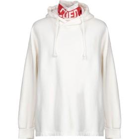 《期間限定 セール開催中》COMME DES FUCKDOWN メンズ スウェットシャツ アイボリー XL コットン 100%