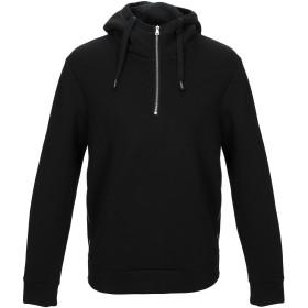 《期間限定セール開催中!》BRIAN DALES メンズ スウェットシャツ ブラック L レーヨン 75% / ポリウレタン 25%