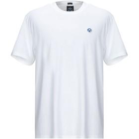 《期間限定セール開催中!》NORTH SAILS メンズ T シャツ ホワイト S コットン 100%