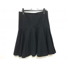 【中古】 ラルフローレン RalphLauren スカート サイズ11 M レディース 黒