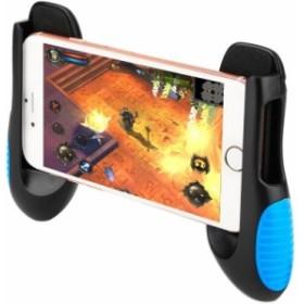 スマートフォンのゲームクラッチハンドル 調整可能なゲームホルダー スタンドユニバーサルグリップ4.5~6.5インチの携帯電話