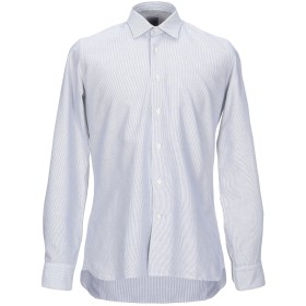《期間限定セール開催中!》ROSSO MALASPINO メンズ シャツ ブラック 40 コットン 100%