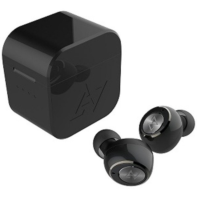 AVIOT フルワイヤレスイヤホン TE-D01gブラック [ワイヤレス(左右分離) /防水 /Bluetooth]