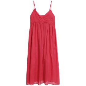 《送料無料》IRIS & INK レディース 7分丈ワンピース・ドレス フューシャ 4 コットン 100%