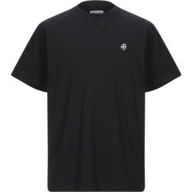 《セール開催中》FRANKLIN & MARSHALL メンズ T シャツ ブラック L コットン 100%