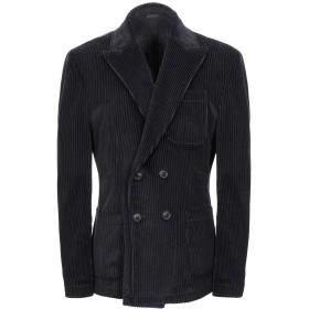 《期間限定セール開催中!》DANIELE ALESSANDRINI メンズ テーラードジャケット ブラック 52 コットン 100%