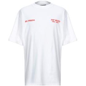 《期間限定セール開催中!》FRANKLIN & MARSHALL メンズ T シャツ ホワイト L コットン 100%